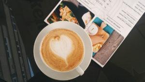 Carta de la cafetería