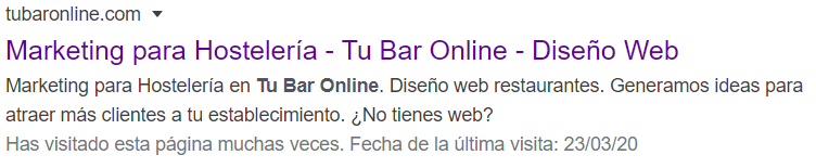 Claves para optimizar el SEO de la web de tu restaurante